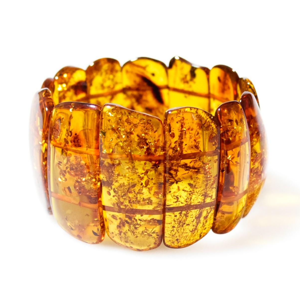 Gros bracelet en ambre