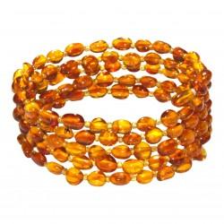 Honey amber bracelet 5 rounds