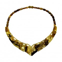 Grün Gelb Halskette Natürliche