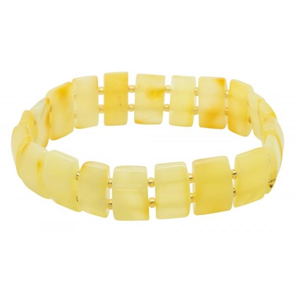 Magnifique bracelet en ambre royal