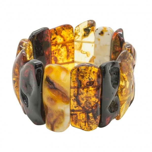 Gros bracelet d'ambre naturel