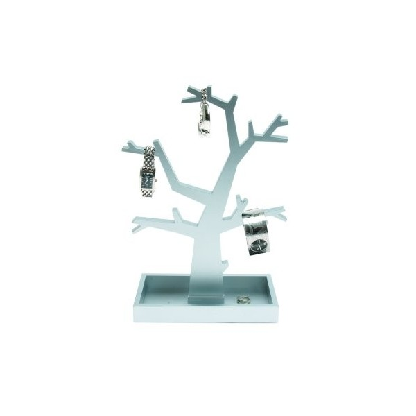 Storage Tree for Jewelry - Silver
