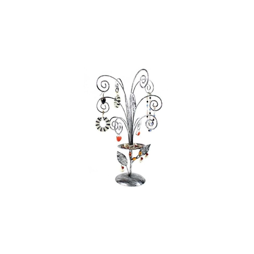 Pr sentoirs arbre bijoux porte bijoux gris bijoux d 39 ambre - Presentoire a bijoux ...