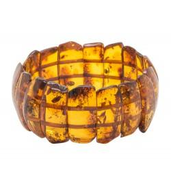 Cognac natural amber bracelet