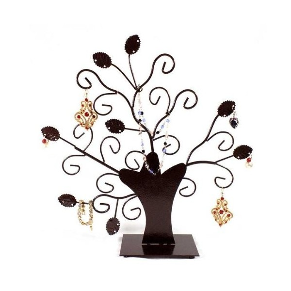 Tree display holder jewelry deco, rust patina