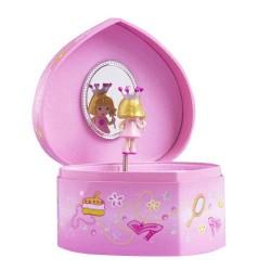 Trousselier-Herz-Box Prinzessin. Dekoration