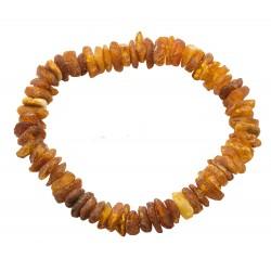 Bracelet en ambre brut pour adulte