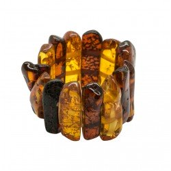 Ring all amber honey and cognac