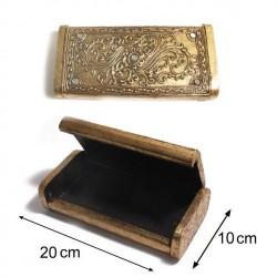 Sg Paris Jewelry Box Wood Woman Dore