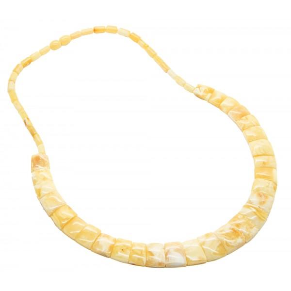 ámbar real Cléopatre estilo collar