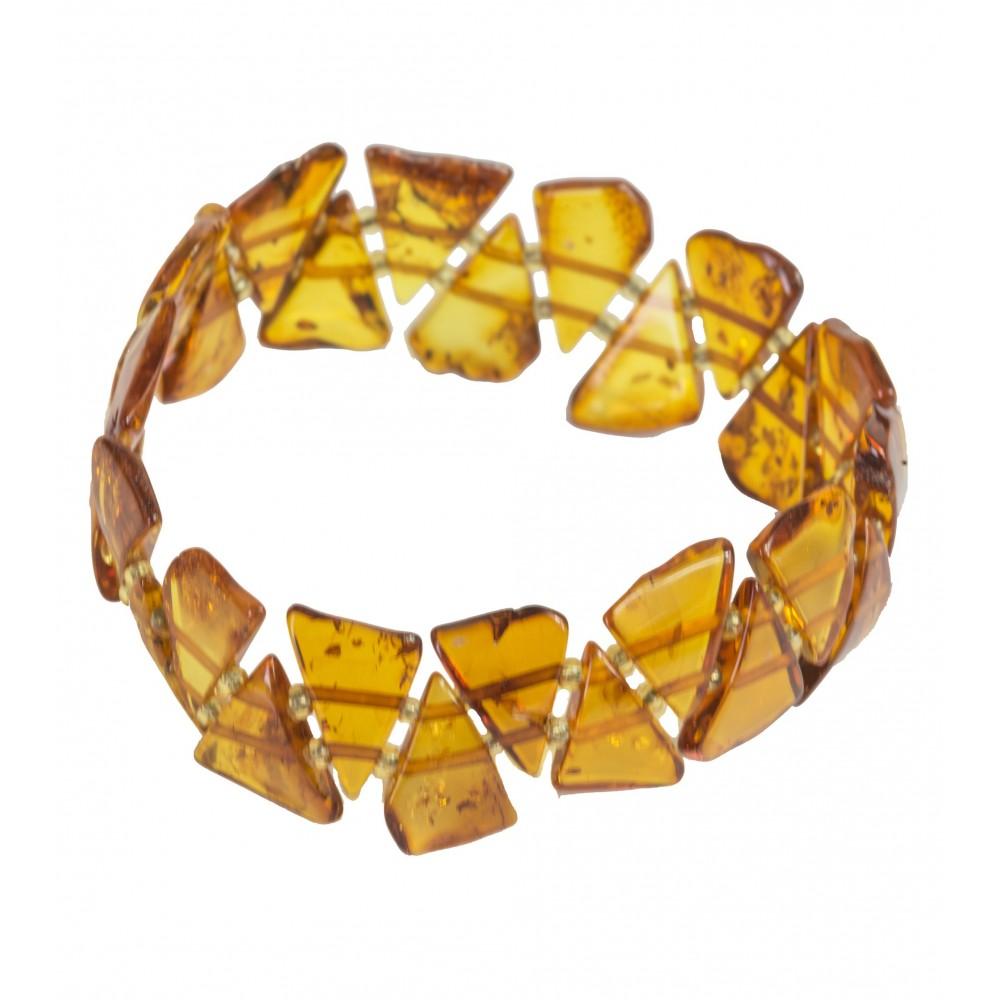 adult cognac amber bracelet bijoux d 39 ambre. Black Bedroom Furniture Sets. Home Design Ideas