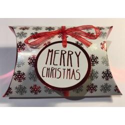 "Christmas cushion box ""Merry Christmas"""