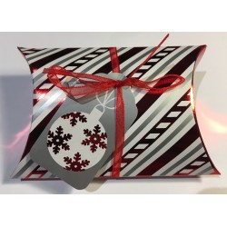 "scatola cuscino di Natale ""christmas ball"""