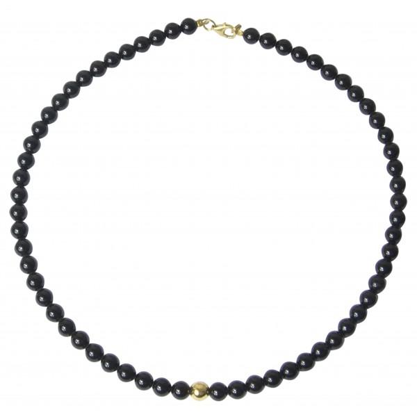 Bernstein bunte Perlenkette zylindrische
