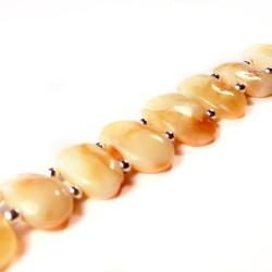 White Amber Bracelet