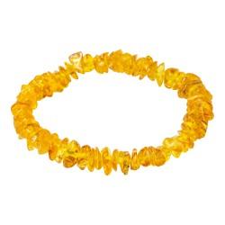 Bracelet en Ambre miel