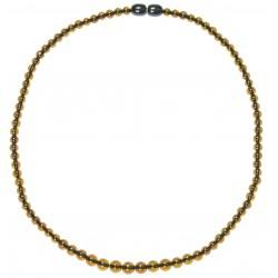 Bernsteinkette Multicolor zusätzliche runde Perle