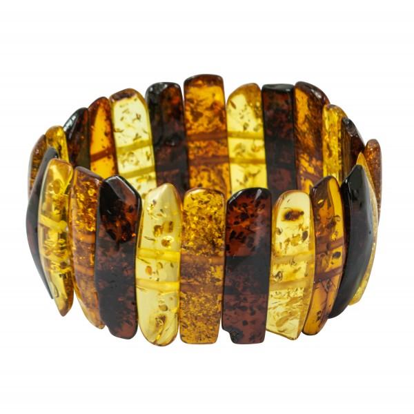 ambra braccialetto multicolor barocco