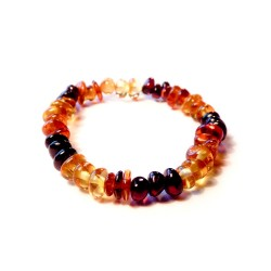 Amber multicolored baby bracelet