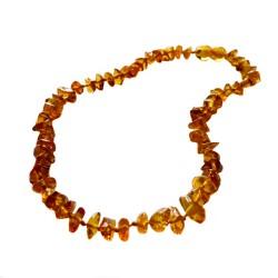 Baby-Bernsteinkette Farbe Honig