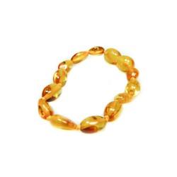 Bracelet ambre bébé couleur miel