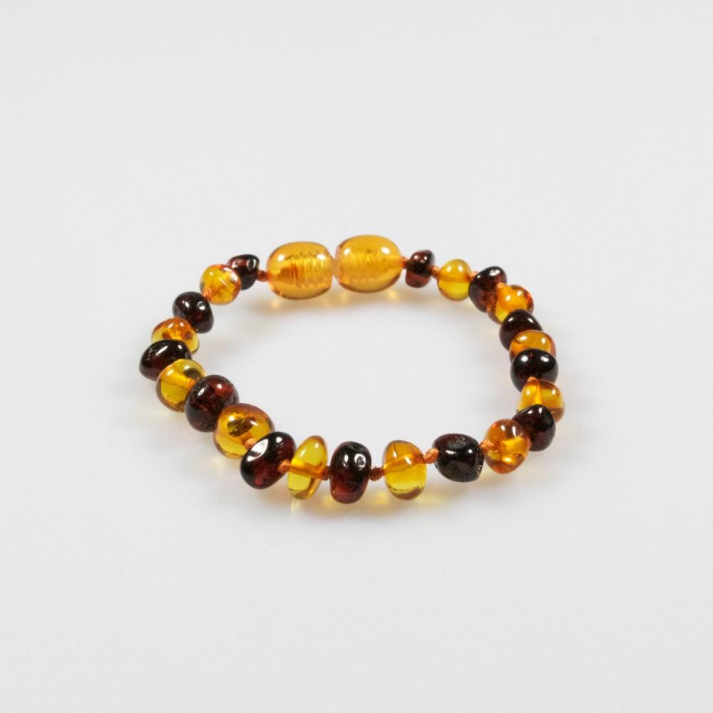 bracelet en ambre pour b b cerise et miel bijoux d 39 ambre. Black Bedroom Furniture Sets. Home Design Ideas