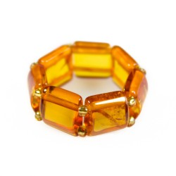 Ring all amber honey color
