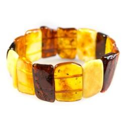 Bernstein Armband Mehrfarben adulte Form
