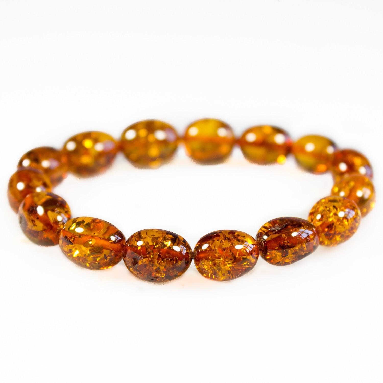 bracelet perle d'ambre