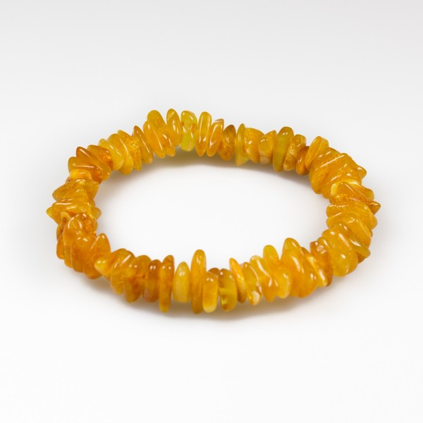 Bracelet ambre adulte simple