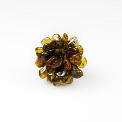 Bernstein-Band-grüne Blume-förmige